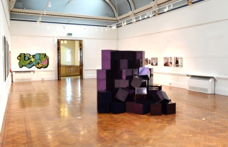 New Narrative and Reader Exhibition, Bury Art Gallery, 2015